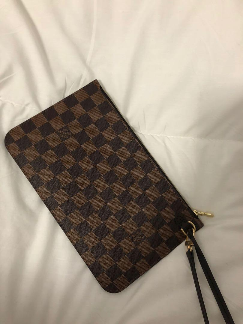 neverfull pouch authentic