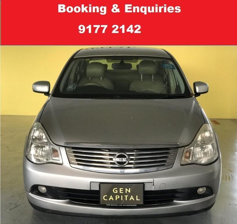 Nissan Sylphy. $500 deposit only. Whatsapp 9177 2142 to reserve.Cheap Car Rental. Cheap Car. Budget car.