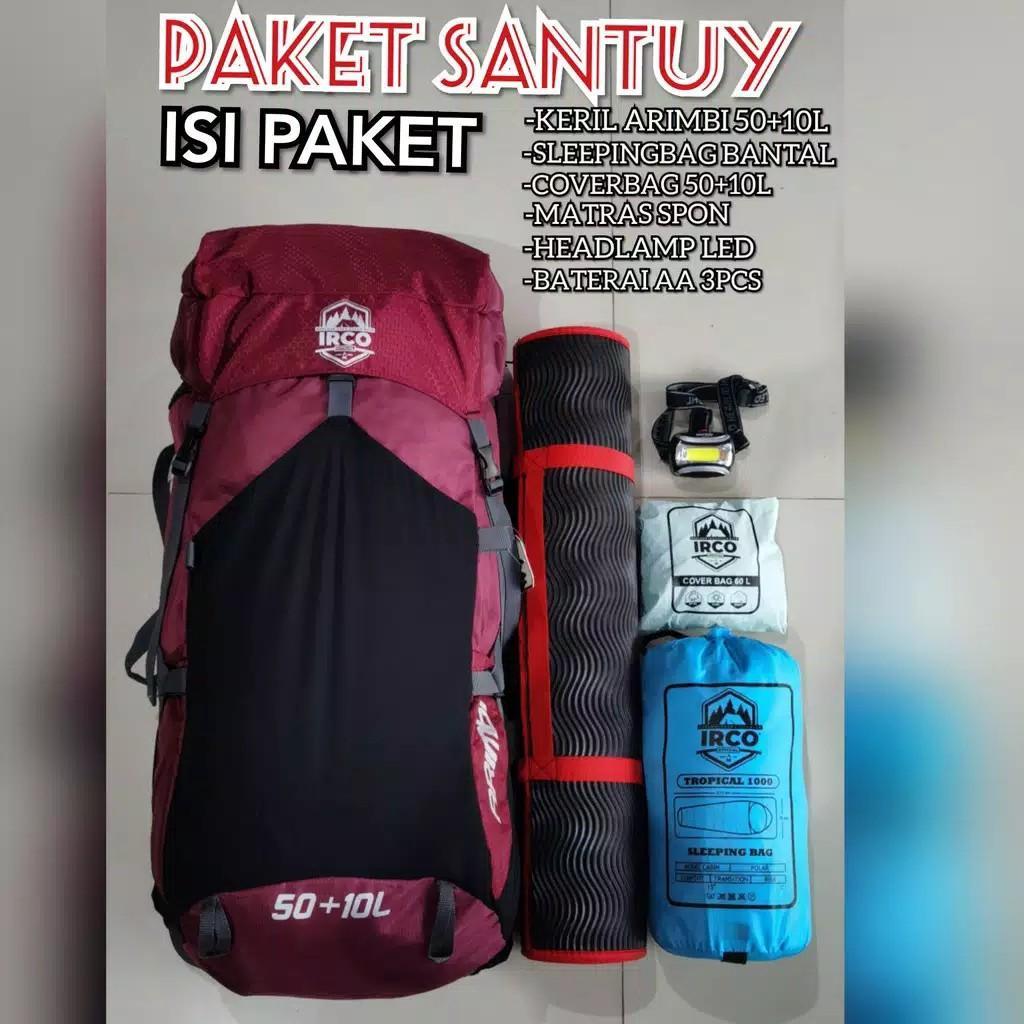 Paket hiking santuy / paket camping
