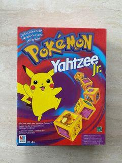 Pokemon Yahtzee Jr. Board Game Milton Bradley 1999 Complete