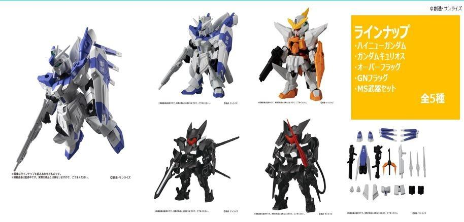 [Pre-Order] Bandai Mobile Suit Ensemble 16 Pack of 10