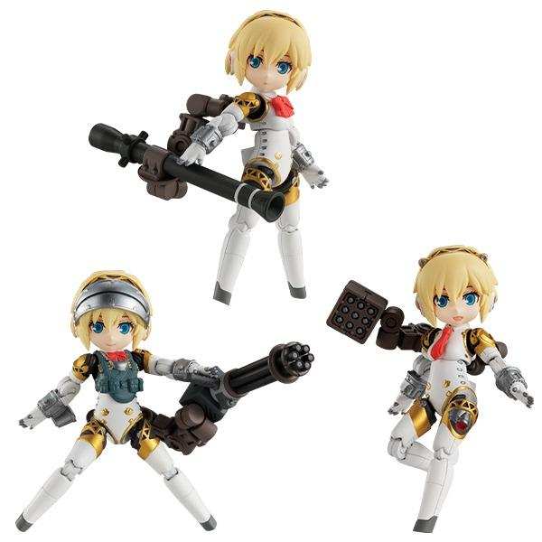 [Pre-Order] MegaHouse Desktop Army Persona Series Collaboration Aigis (Set of 3)