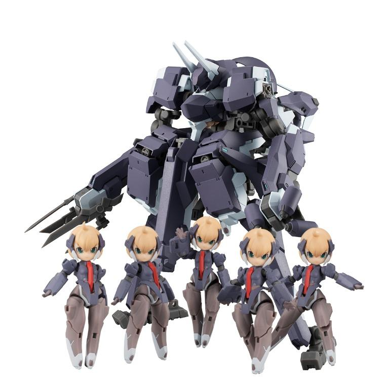 [Pre-Order] MegaHouse Desktop Army F-666d Varka Series ( Frea Dragoon Capture Edition ) *With 6 Special Postecards* Set of 6