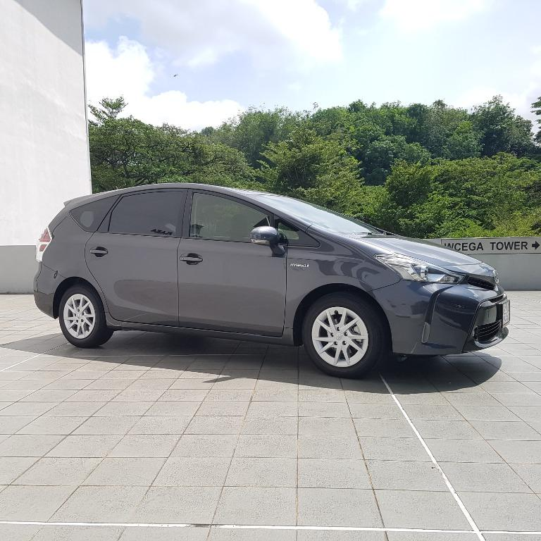 PRIUS ALPHA HYBRID FOR RENT !!!!!!