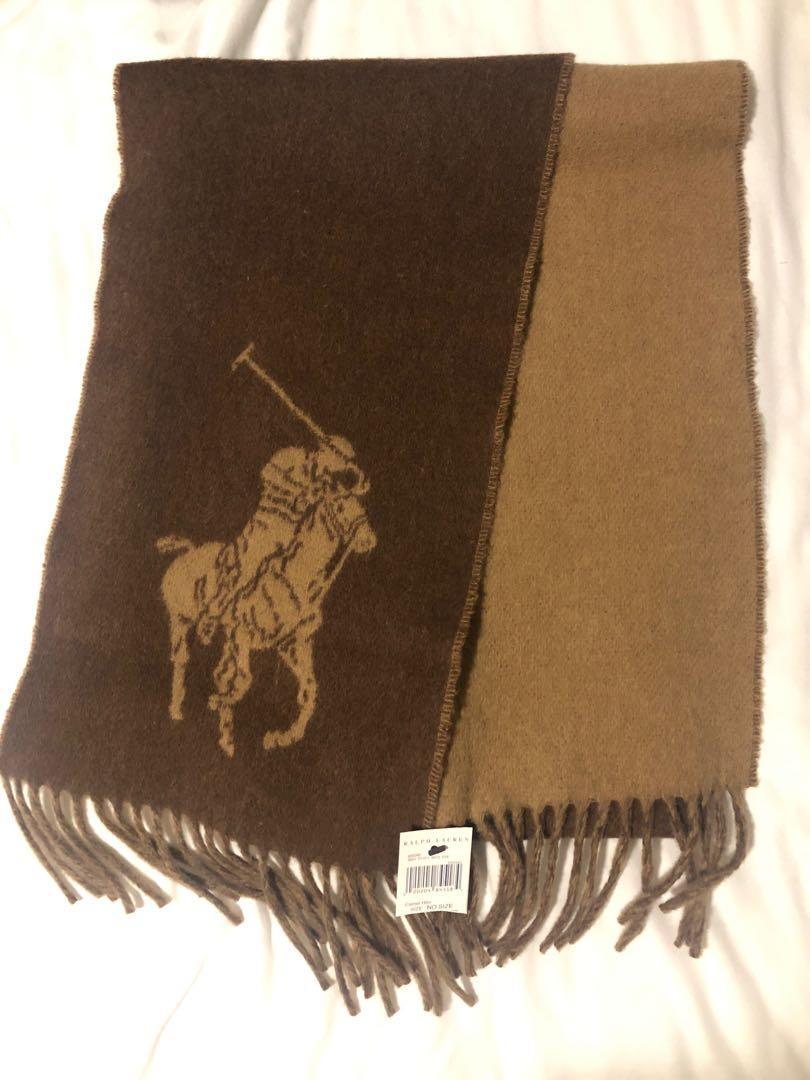 Ralph Lauren Brown/camel Scarf