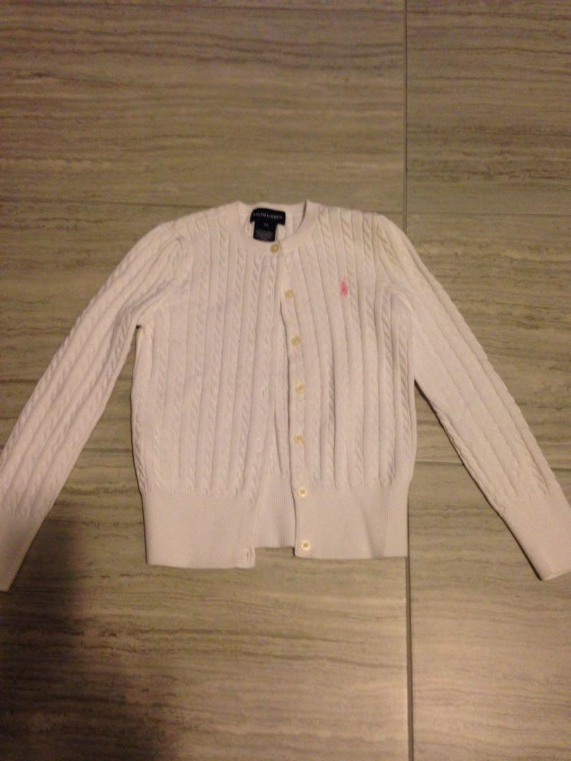 Ralph Lauren girls sweater size 6x