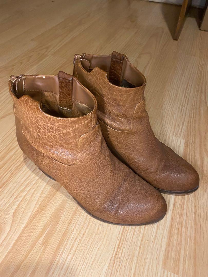 Sam Edelman lisle booties women size 8