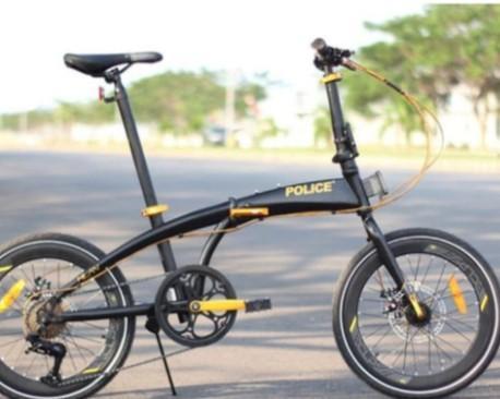 Sepeda Lipat element police