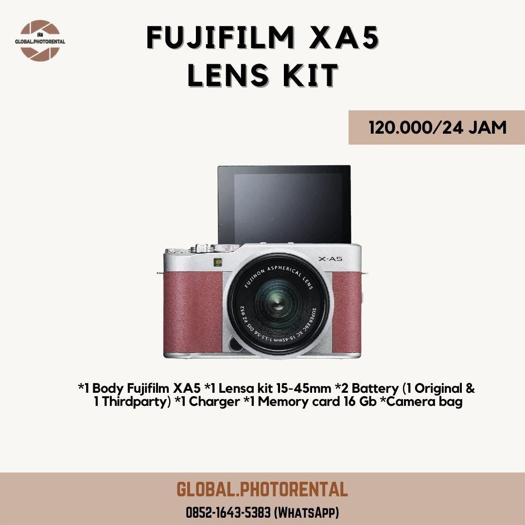 Sewa Kamera fujifilm xa5