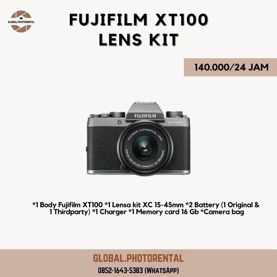 Sewa kamera fujifilm xt100