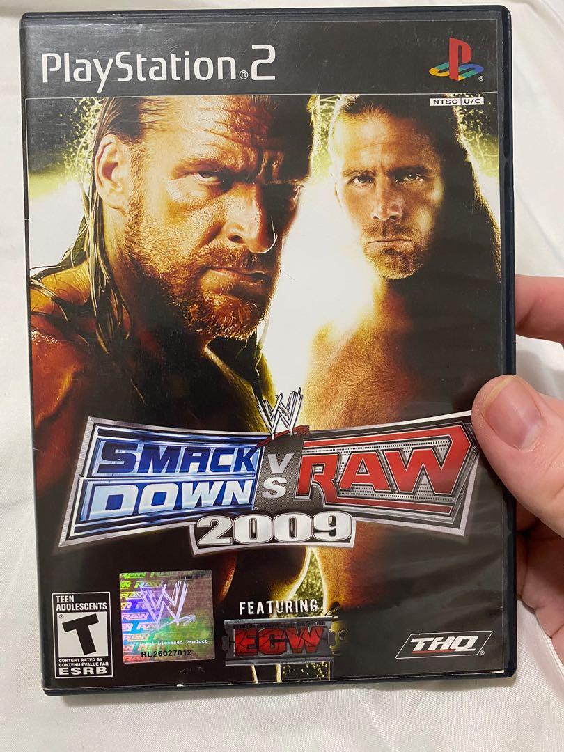 Smackdown vs Raw 2009 PS2
