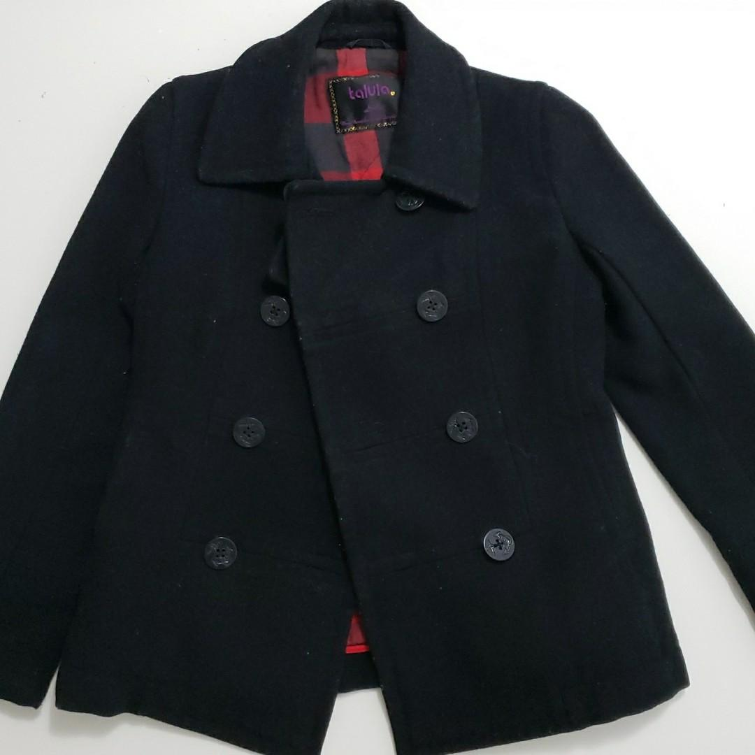 Talula short trench coat