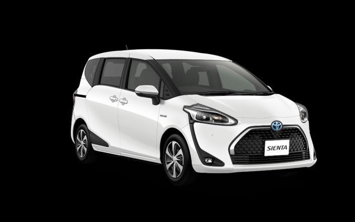 Toyota Sienta Hybrid cheap rent