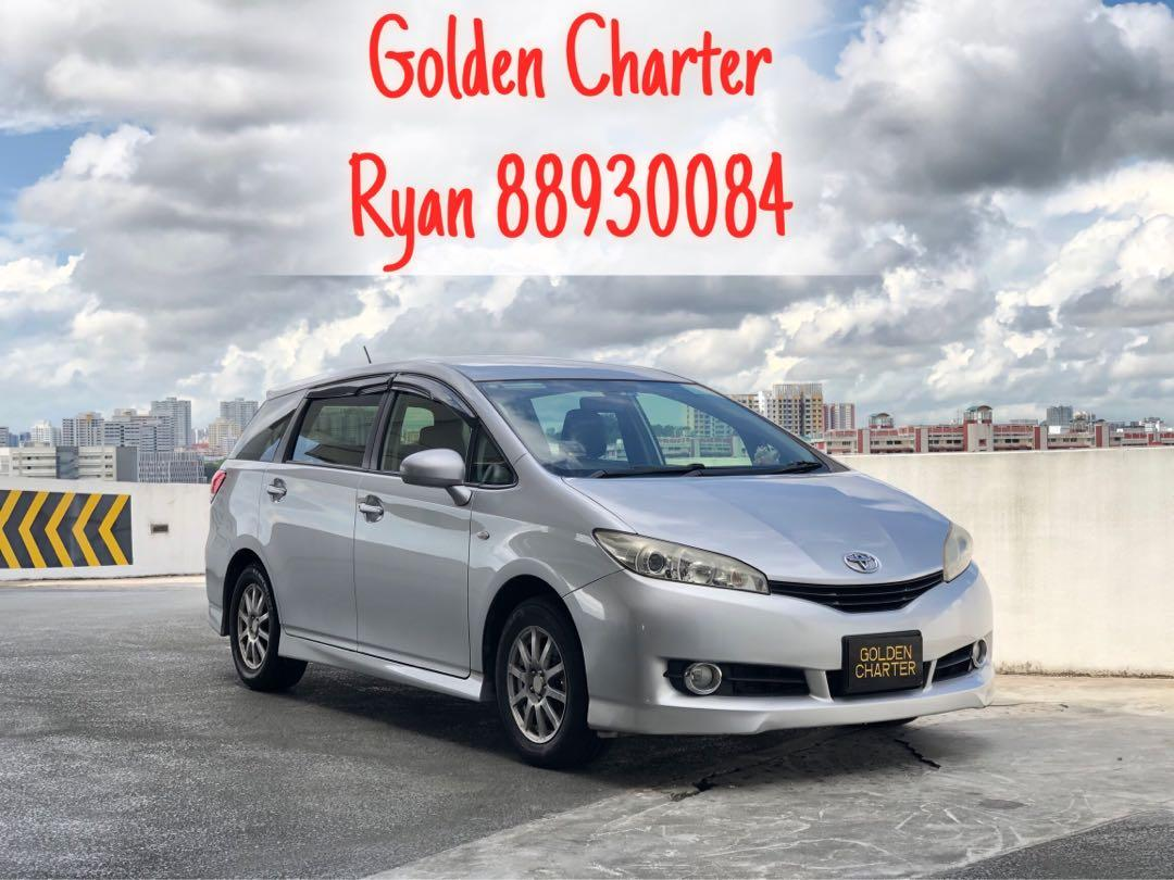 Toyota wish for rent ! Call 88930084