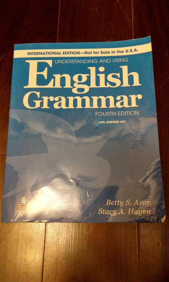 Understanding and Using English Grammar with CDs and Answer