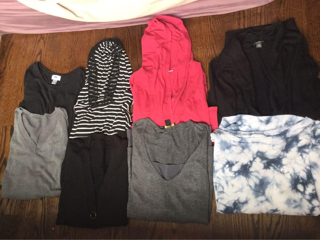 Woman's lot of Fall /Winter tops-$25 all