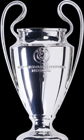 1 1 scale uefa champions league trophy replica sports sports apparel on carousell carousell
