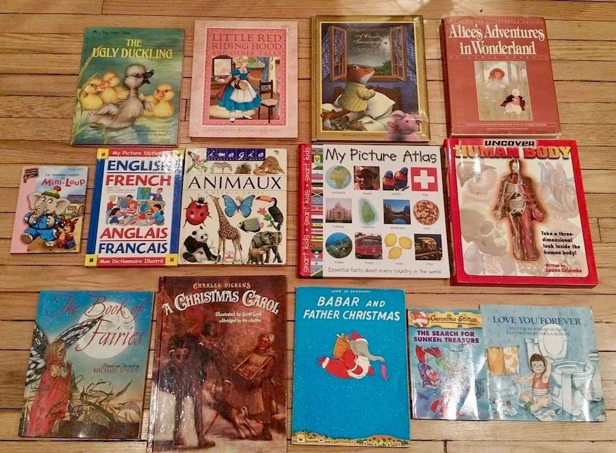 14 Fantastic Children's Books. Excellent condition ⭐️Some classics (hardcover) and some French books as well