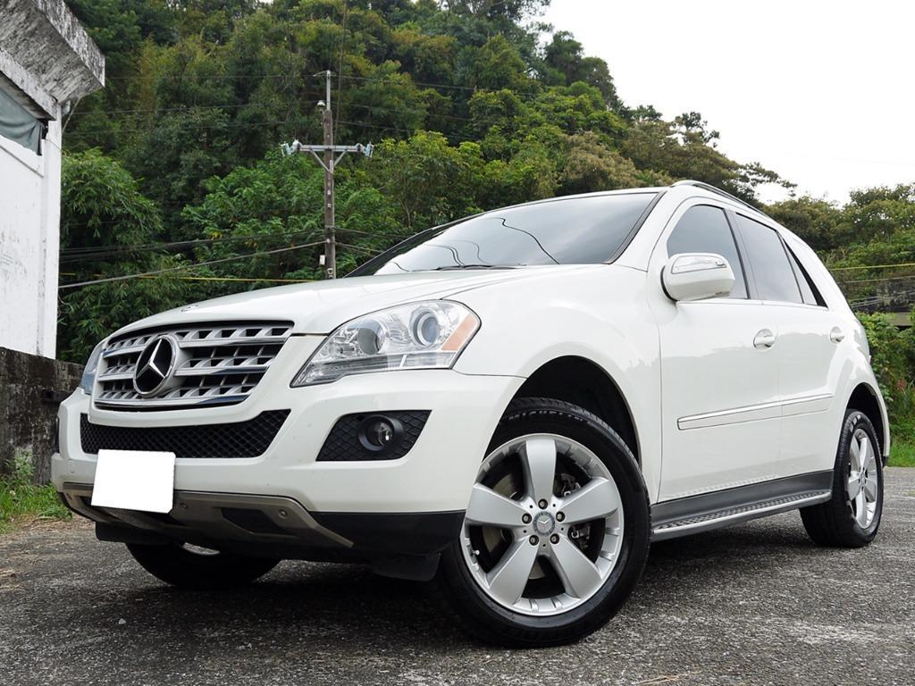 全額貸款-2010年 賓士 ML350 頂級汽油天窗 正一手車 原鈑件 里程保證
