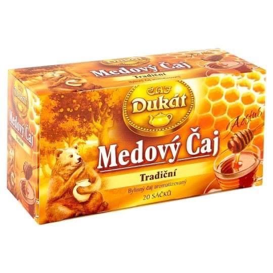 捷克獨家傳統蜂蜜茶包