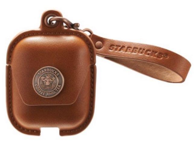 星巴克 AirPods保護套 咖啡色 耳機套