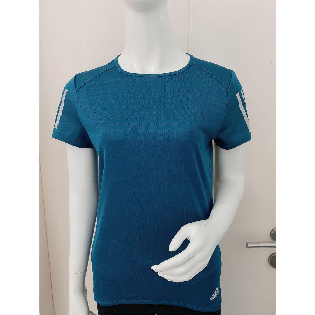 ADIDAS Woman Running ~ Own The Run Tee (Blue)