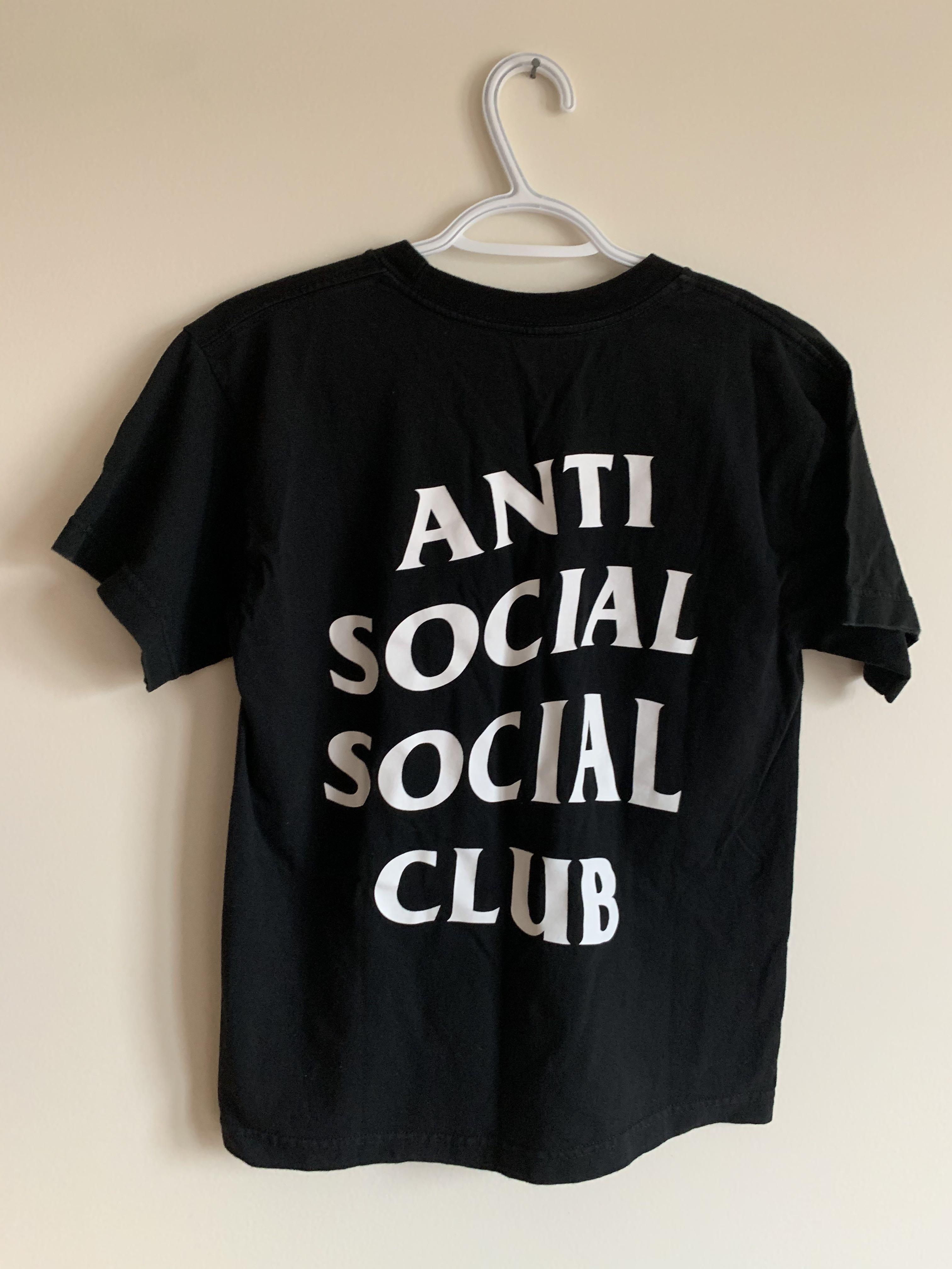 Anti Social Social Club Black Tee