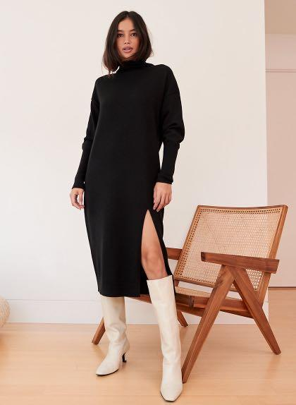 Aritzia Wilfred Cyprie Dress