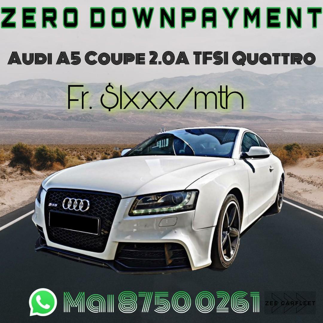 Audi A5 Coupe 2.0 TFSI quattro S tronic (A)