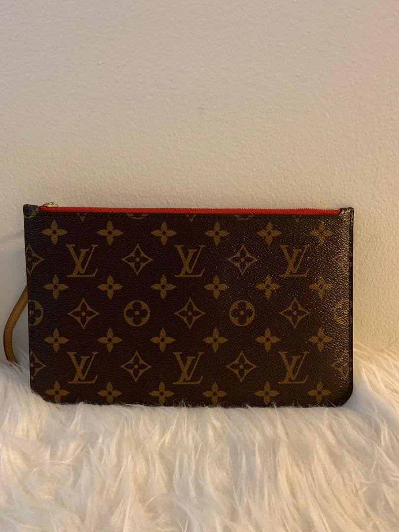 Authentic Neverfull pouch