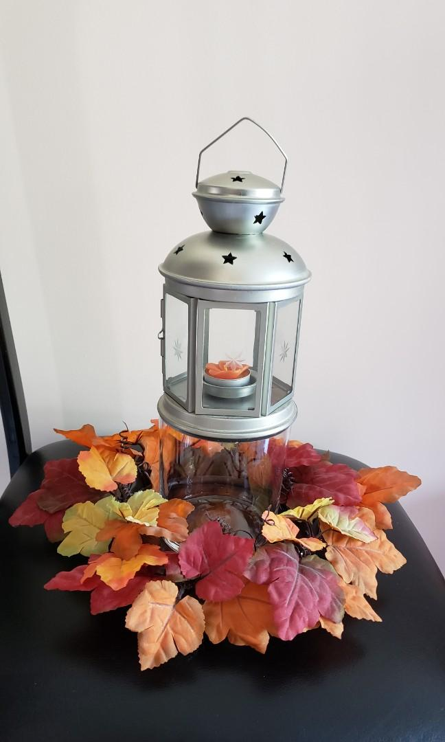 Autumn Lantern Centerpiece