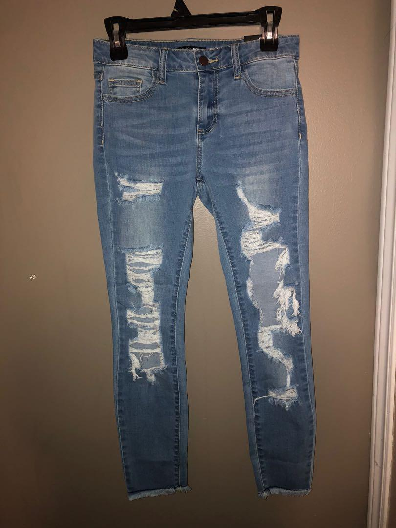 BNWT fashion nova boyfriend jeans