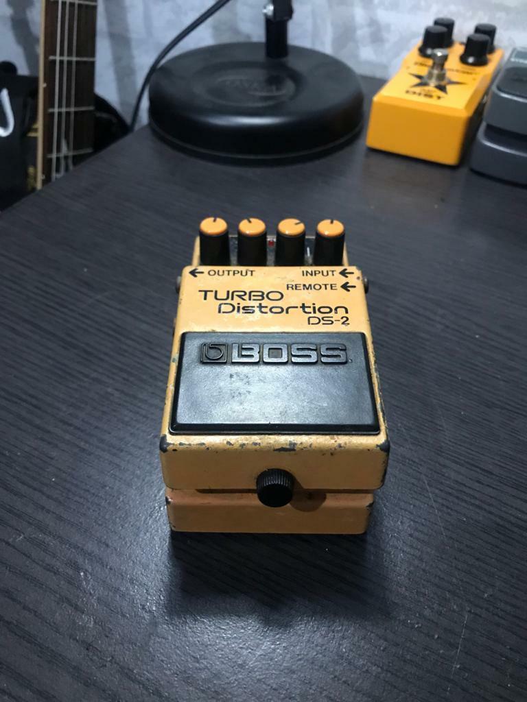 Boss Turbo Distortion DS-2 lagi not behringer ibanez blackstar mxr digitect