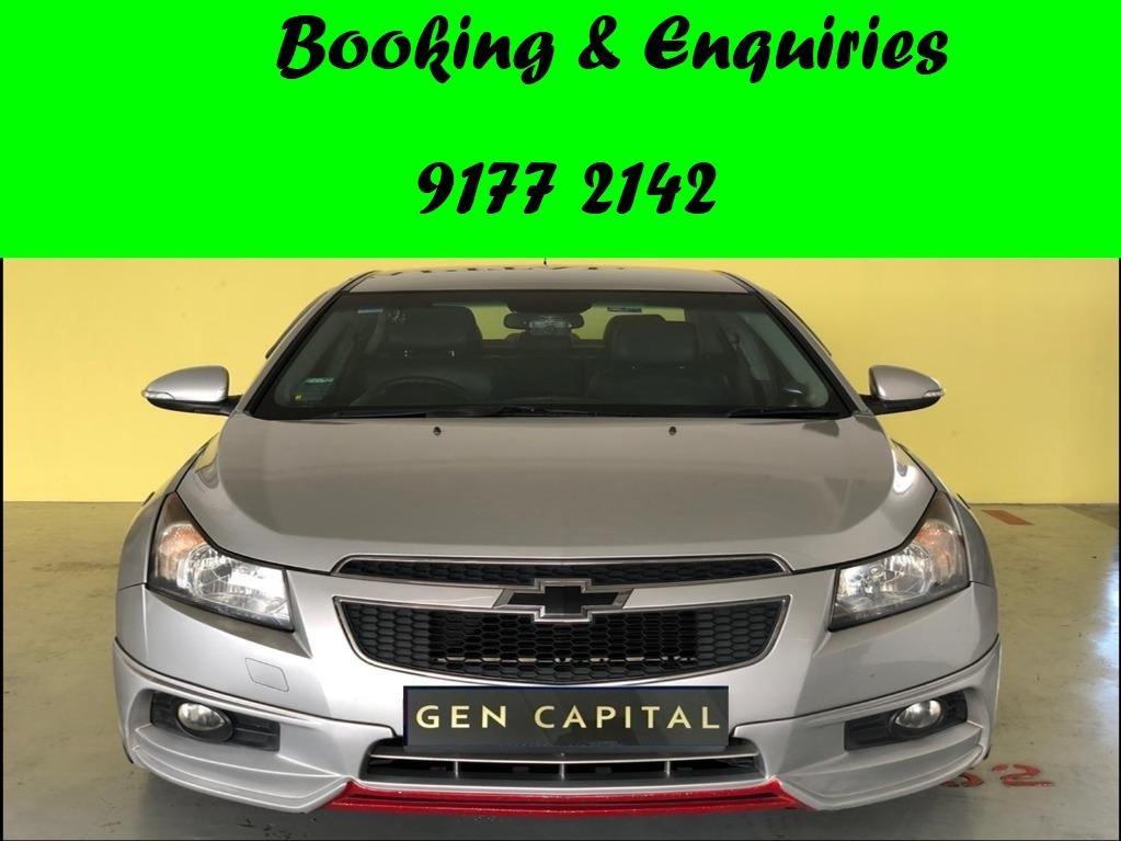 Chevrolet Cruze. LAST UNIT. $500 deposit only. Whatsapp 9177 2142 to reserve.Cheap Car Rental. Cheap Car. Budget car.