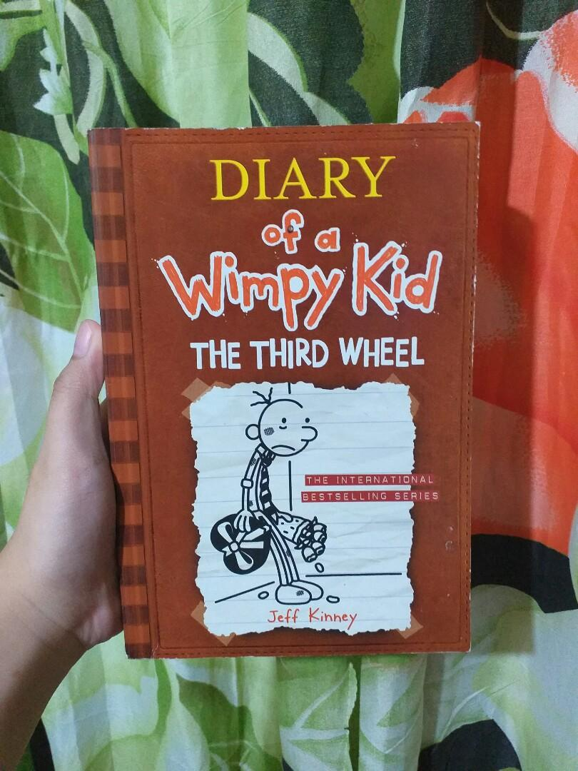 Diary Of A Wimpy Kid The Third Wheel By Jeff Kinney Books Books On Carousell