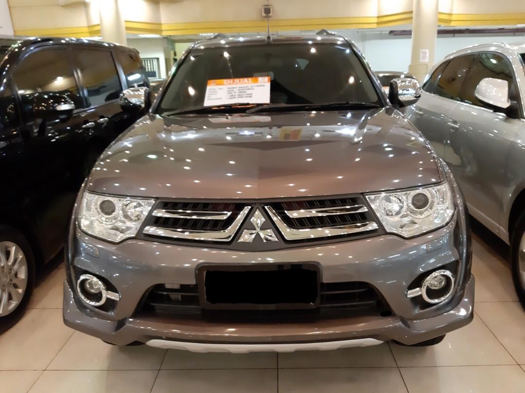 DiJual nego th.2014 Mitsubishi Pajro Dakkar 2.5 DIESEL Automatic.SUNROOF.Limited.Kondisi PRIMA.Nopol B-Kota Tangerang(ganjil).cash/credit harga sama,engga ada jebakan harga