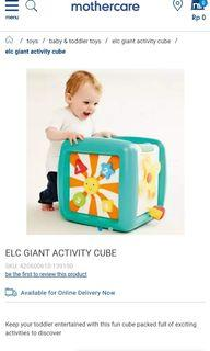 Elc giant lights and sounds activity cube