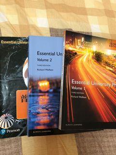 Essential University Physics 大一 普物 課本 原文 中譯