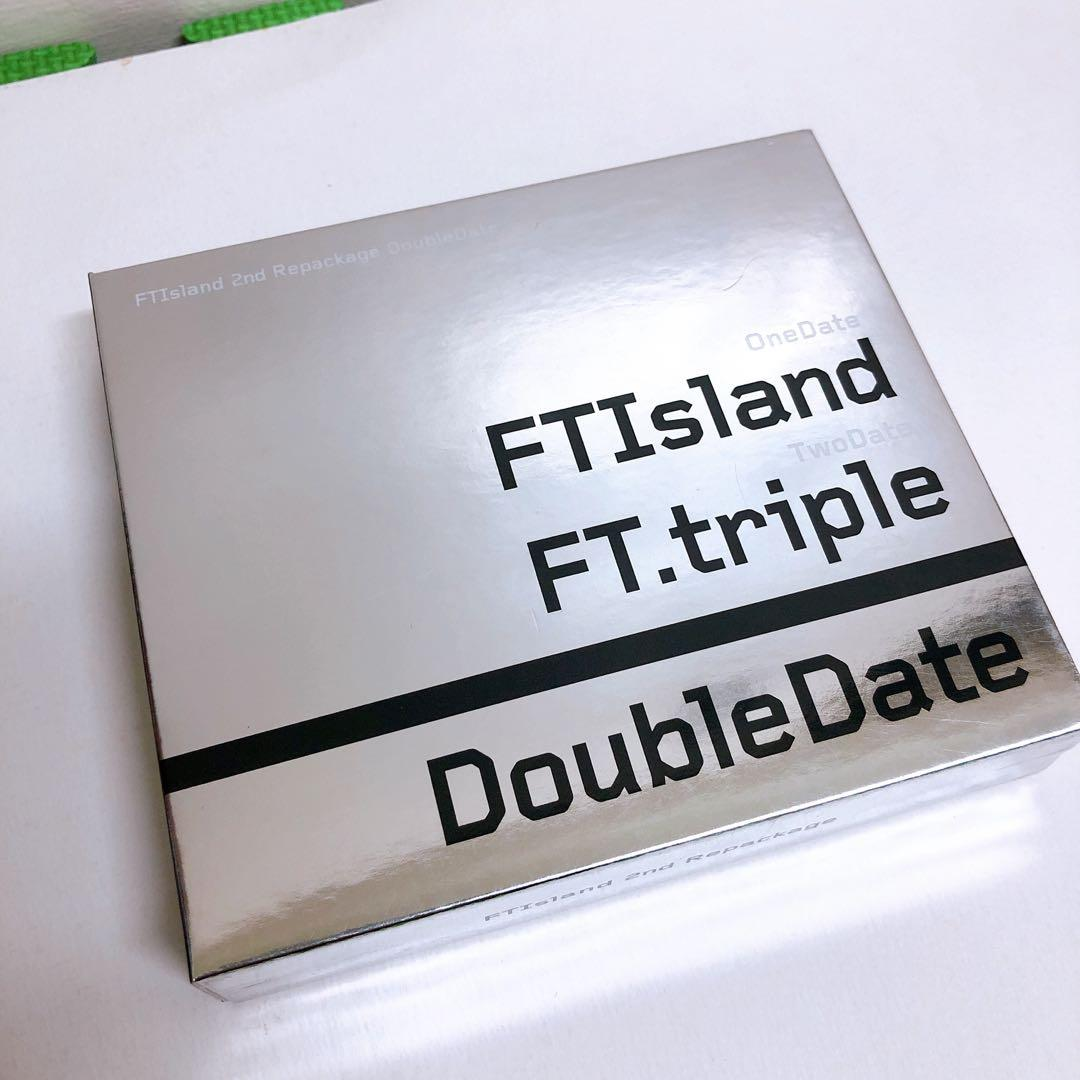 FTISLAND 專輯 FT.triple double date 保存良好