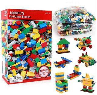 1000 pcs building blocks Brand New