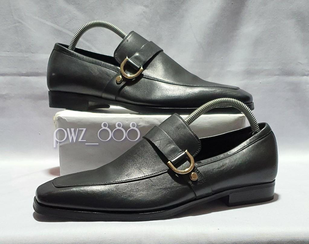 GUCCI D-Ring Men's Formal Dress Shoes