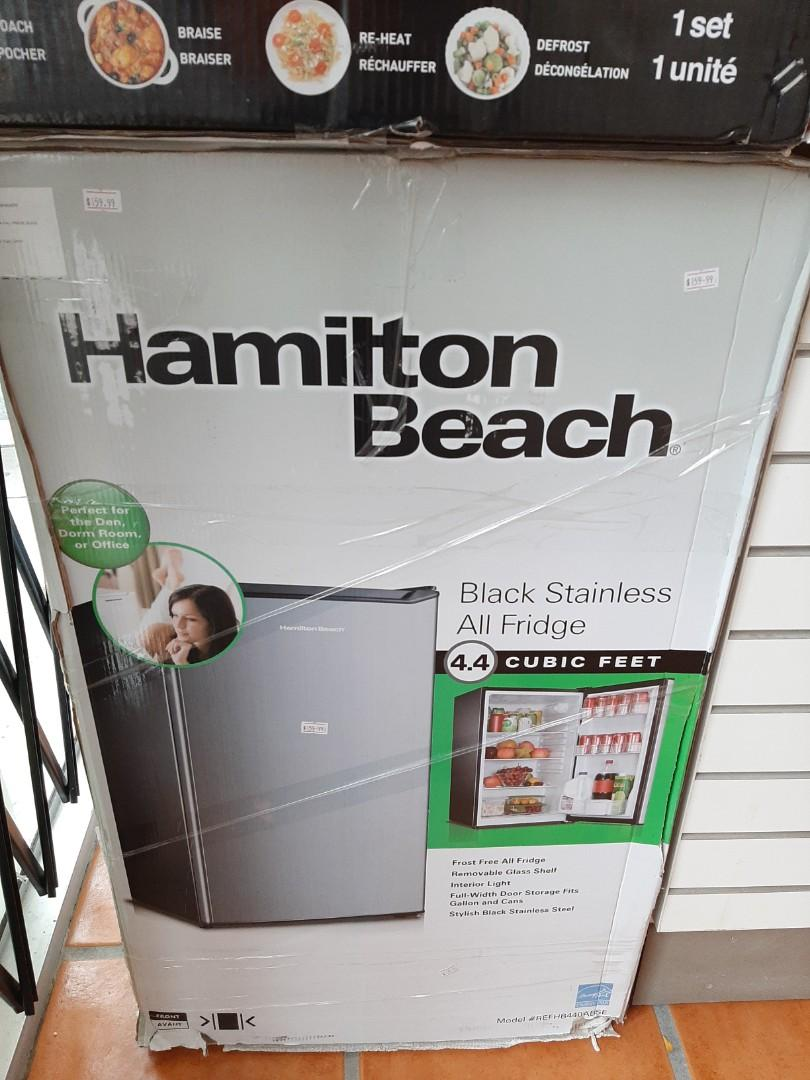 Hamilton Beach 4.4 cu.ft. Black Stainless All Fridge