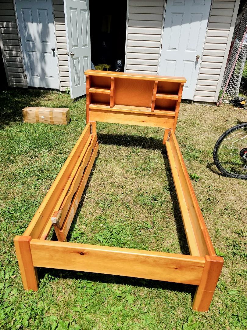 Hand made custom bed frame