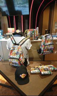 HardRockCafe foldable bagpack