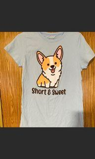 Hot Topic Corgi Shirt S