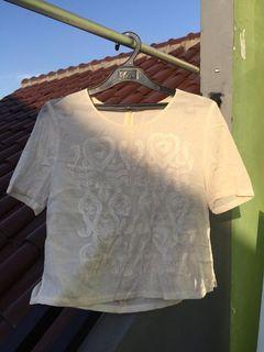 Ivory Crop Top