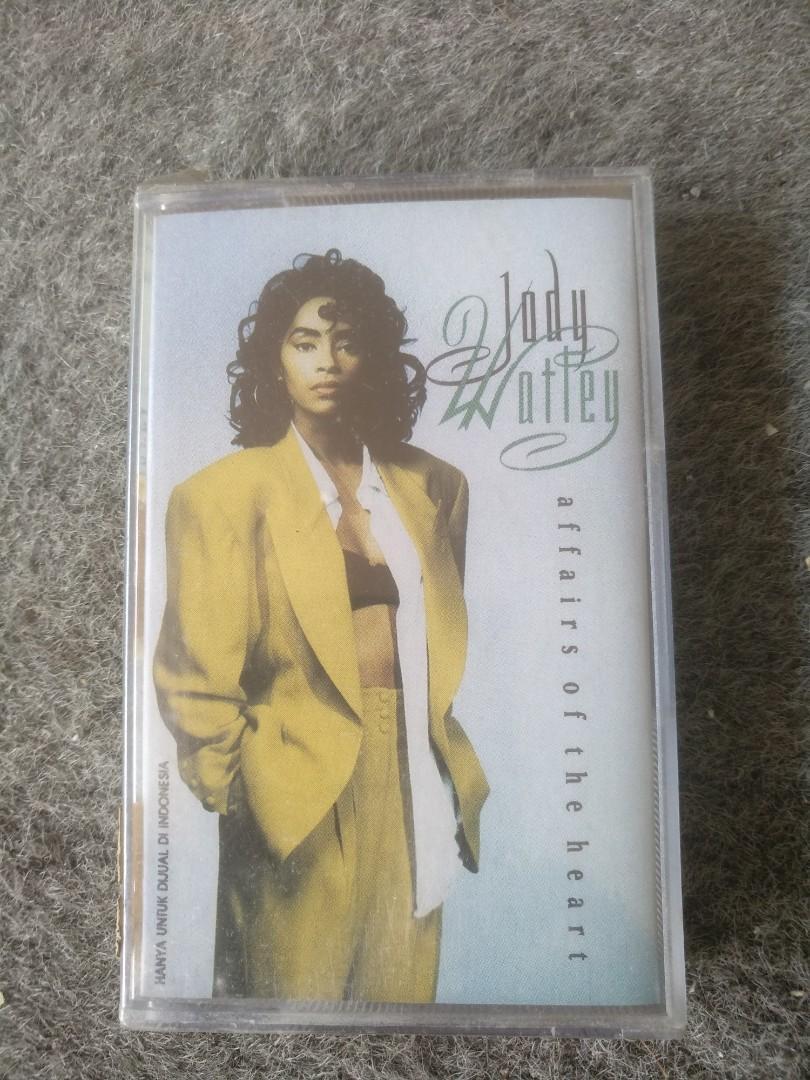 Kaset album Jody Wotley - affairs of the heart