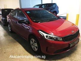 Kia K3 rental packages available weekly!