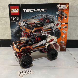 Lego Technic 9398 4x4 Crawler Original Used