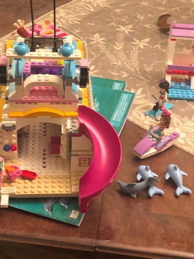 LEGO friends dolphin cruiser